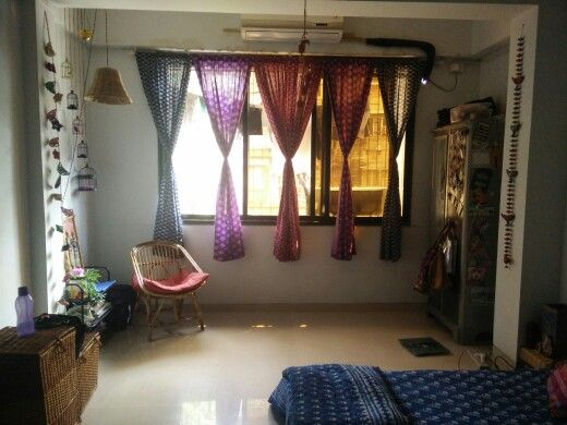 I believe that decor stuff need not be expensive.. Especially in a country like India where we are blessed to have rural artisans and rich textile...have converted simple Bengal cotton saris into sheer curtains.  They not only serve the purpose but add colorful and positive vibe.. #indiandecorideas #indianhome #brightandcolorful #homedecor #beautifulhome