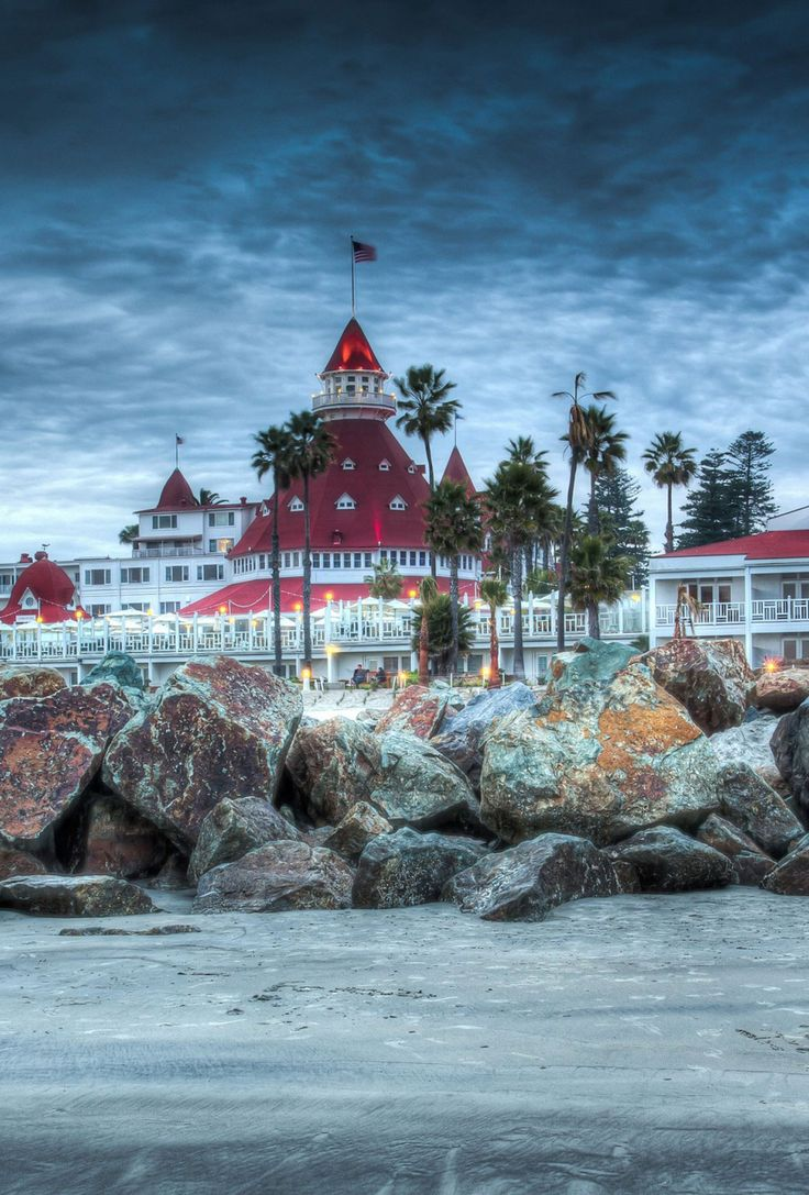 Hotel Del Coronado; One Of San Diego's Jewels.