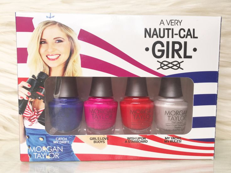 MANICURE MONDAY - Morgan Taylor – A Very Nauti-Cal Girl Collection