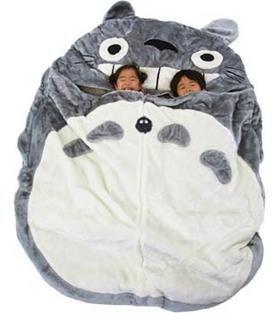 Totoro sleeping bag: £175!! ...7/10