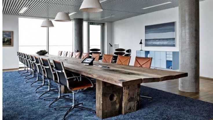 THORS Mosaic Sydenergi boardroom table with Joint chairs from Engelbrecht
