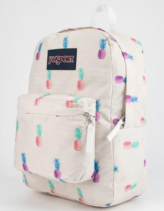 7a1d3f09adc JANSPORT SuperBreak Pineapple Punch Backpack - NATUR - JS00T501-48L ...
