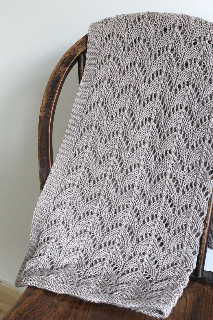 Heirloom baby blanket, with link to pattern