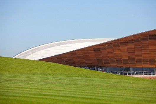 London 2012 Velodrome, by Hopkins Architects.