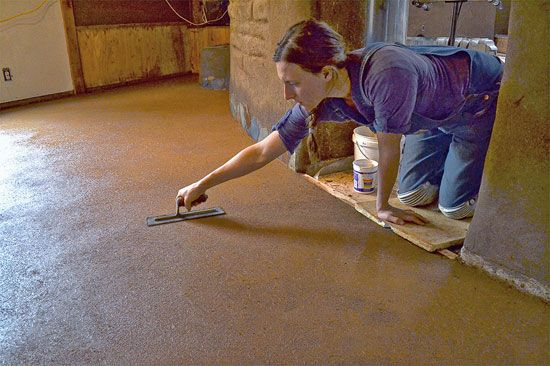 Learn about the benefits of earthen floors and how to install them yourself.