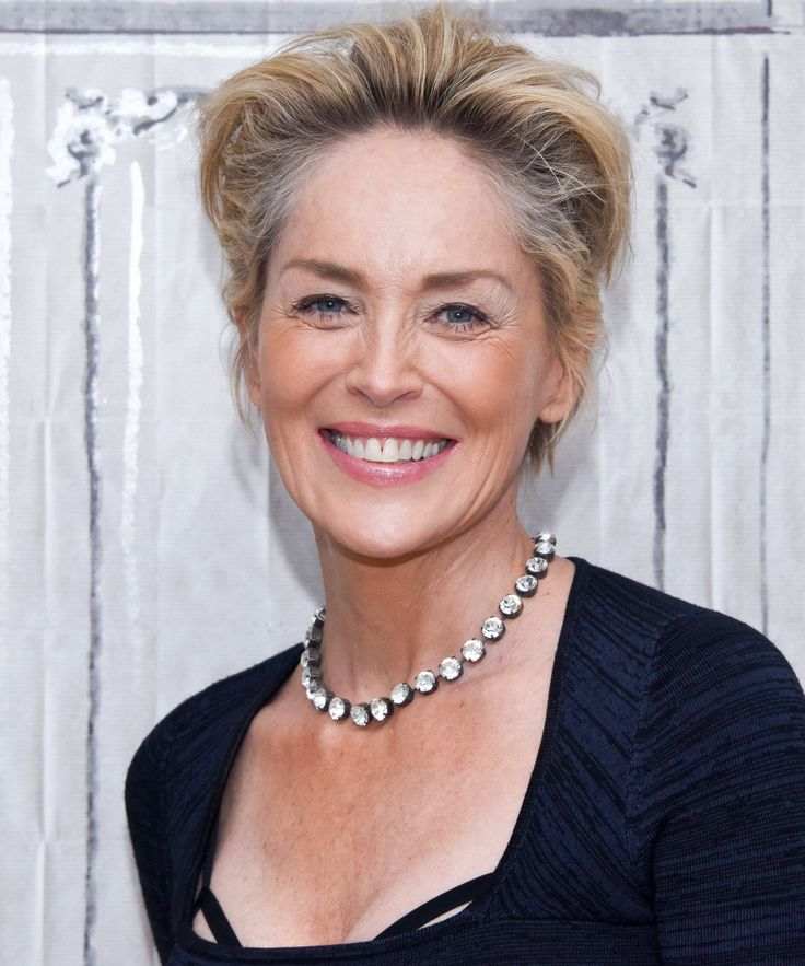 Sharon Stone, 58, Paints Poolside in a Sexy Black Bikini Because She's Sharon Stone from InStyle.com