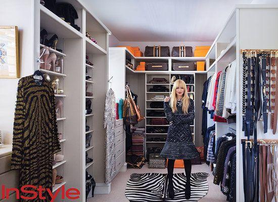Rachel Zoe's major closet