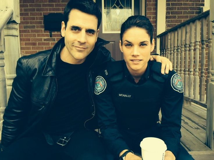 Rookie Blue S5 BTS: Ben and Missy
