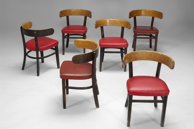 Six Werner West Chairs