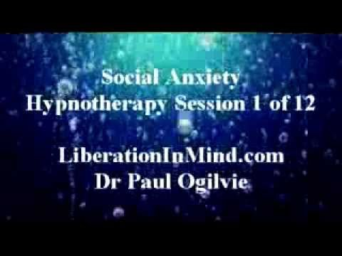 Social Anxiety Hypnotherapy Session 1 of 12.  21 min