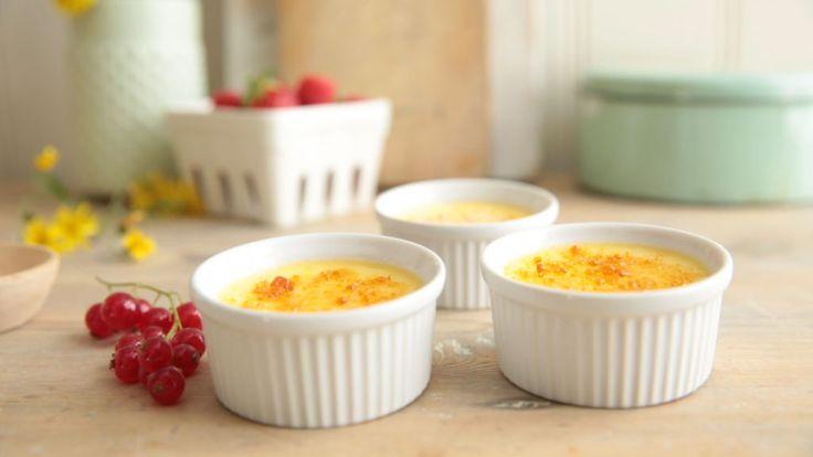 Crème brûlée er en imponerende god dessert