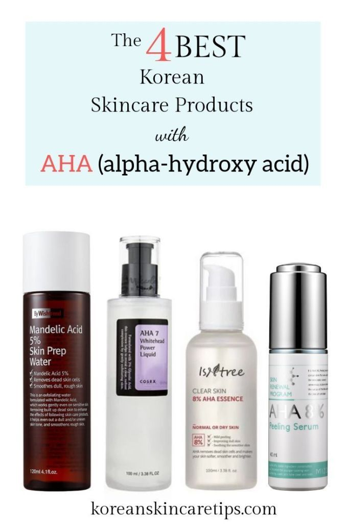 The Best Korean Skincare Products With Aha Korean Skincare Chemical Exfoliation Skin Care