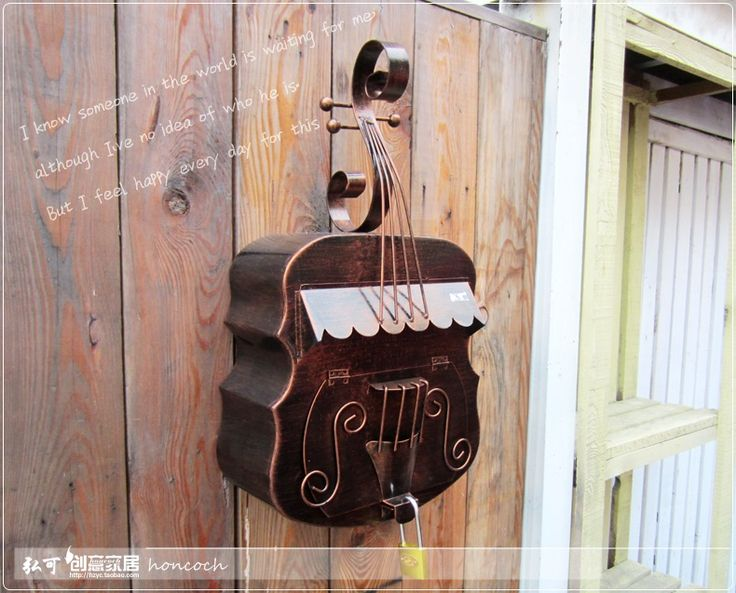 С самым высоким рейтингом деревенский почтового ящика мода сельский урожай газета коробки газеты скрипка стиль почтовые ящики бытовой купить на AliExpress