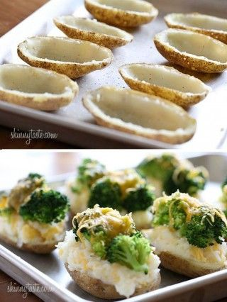 patatas rellenas al horno de brocoli y queso DIY ingenioso 2
