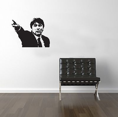 Football Managers Conte Vinyl Transfer Sticker Decal Wall