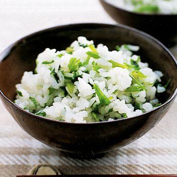 せりの混ぜご飯   重野佐和子さんのごはんの料理レシピ   プロの簡単料理レシピはレタスクラブニュース
