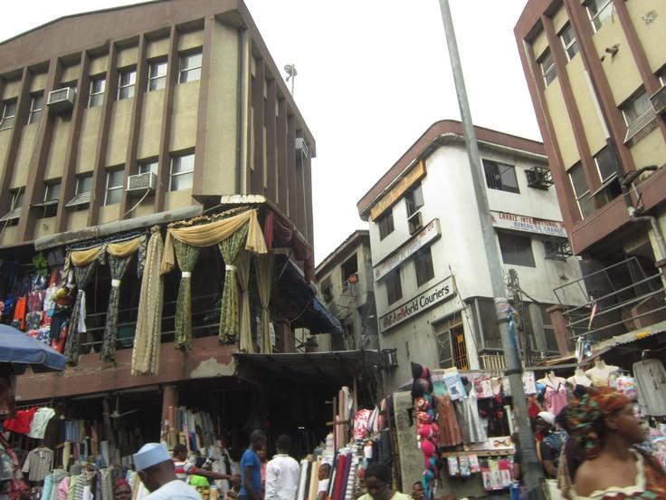 The market streets of Lagos, Nigeria. #sbmovingforward