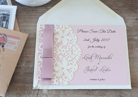 Save the Date Cards. DIY wedding stationery supplies. Pretty save the date cards.