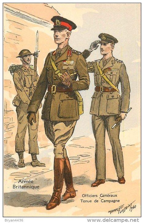WW1 British General and Officer Postcards / British Army - Delcampe.net