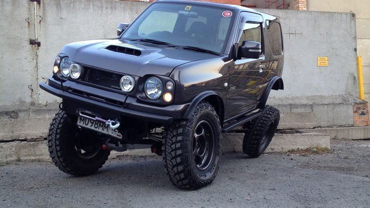 Suzuki Jimny 2012 (бензин, МКПП) — отзыв владельца GaNgStA- — DRIVE2.RU