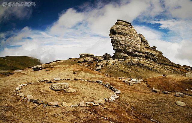 Sfinx in Bucegi Mountain, Romania