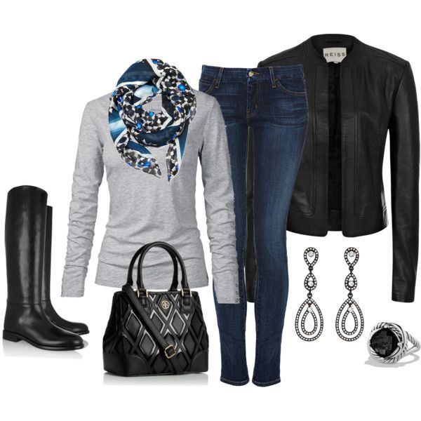 Leather, created by smores1165 on Polyvore