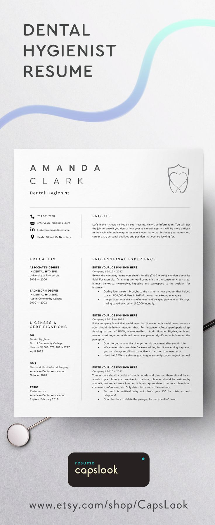 Best Nurse Resume Template Images On