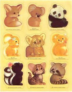 Hallmark Stickers. I had these.