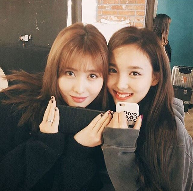 Momo and Nayeon