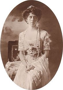 Princess Viktória 12 April 1866 – 13 November 1929 pictured in 1908 was the 2nd daughter of Frederick III and Victoria Princess Royal and grandaughter of Queen Victoria and Priince Albert