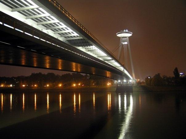 "Bratislava / Slovak Republic - ""New Bridge"""