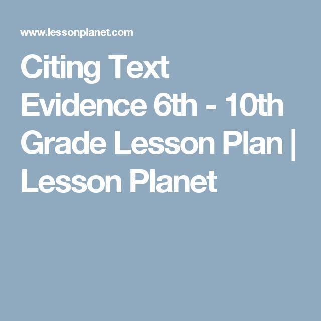 Citing Text Evidence Worksheet 7th Grade Proga Info