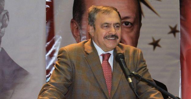 Bakan Veysel Eroğlu'nda terörle mücadelede kararlılık vurgusu
