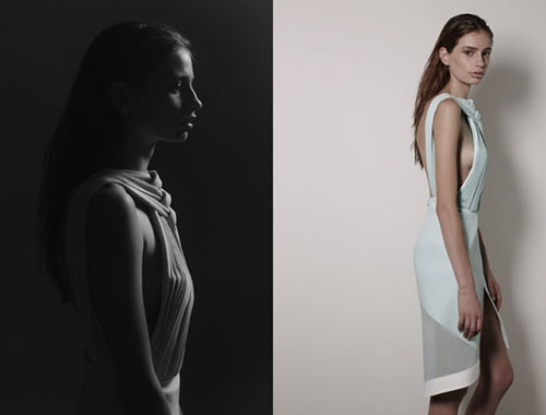 Dion Lee 2013 Capsule Collection photographed by Stephen Ward, Image Source yellowtrace.com.au