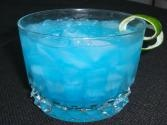SMIRNOFF BLUE WAVE.  1 oz Smirnoff® Vodka Whipped Cream Flavored, 1/2 oz Blue Curacao liqueur, lemon-lime soda, lemon wedge     Mix ingredients in shaker, Serve with ice, top off with lemon-lime soda, Garnish with lemon or lime wedge