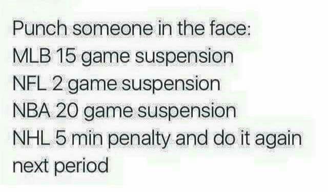 Yep, you got to love hockey! !!!