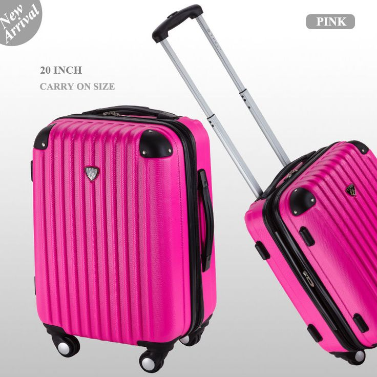 20 inch 40L Luggage 4 Spinner Wheel Trolley Travel Bag suitcase Cabin Carry On