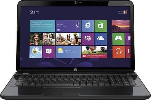 "HP - Pavilion 17.3"" Laptop - 4GB Memory - 640GB Hard Drive - Sparkling Black"