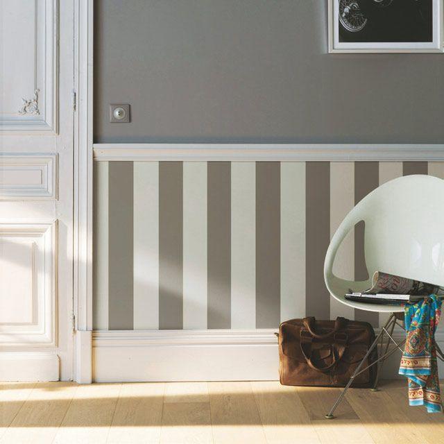 les 25 meilleures id es de la cat gorie papier peint gris. Black Bedroom Furniture Sets. Home Design Ideas