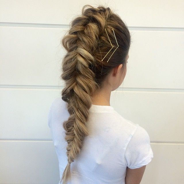 This braid > no braid. Inspiration from the amazing @_marissamarino famous…