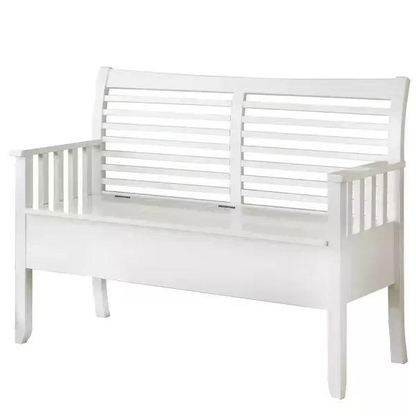 White Wood Storage Bench Ideas - Awesome Design IDea - Quora