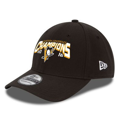 Pittsburgh Penguins New Era 2016 Eastern Conference Champions 39THIRTY Flex Hat - Black