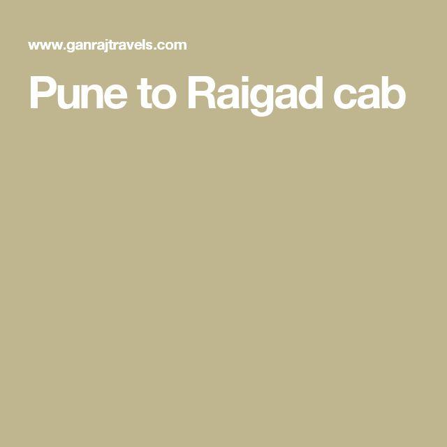 Pune to Raigad cab