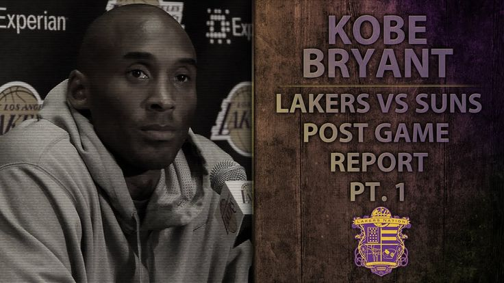 Lakers vs Suns: Kobe Bryant On Weight Loss, Grades His Performance After...