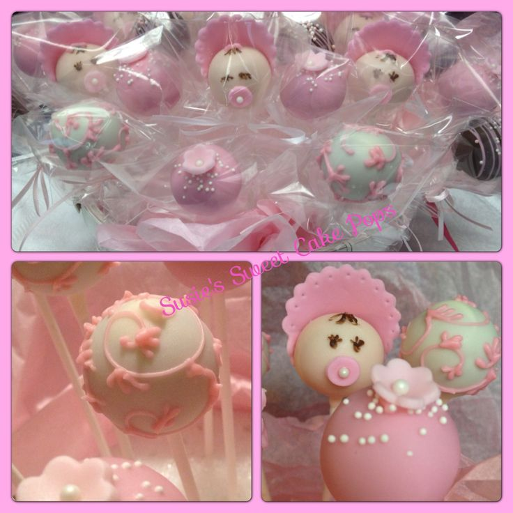 Pics Of Girl Baby Shower Cakes