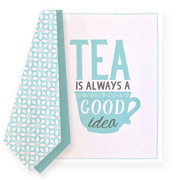 Madras Link Tea Break Tea Towel Set