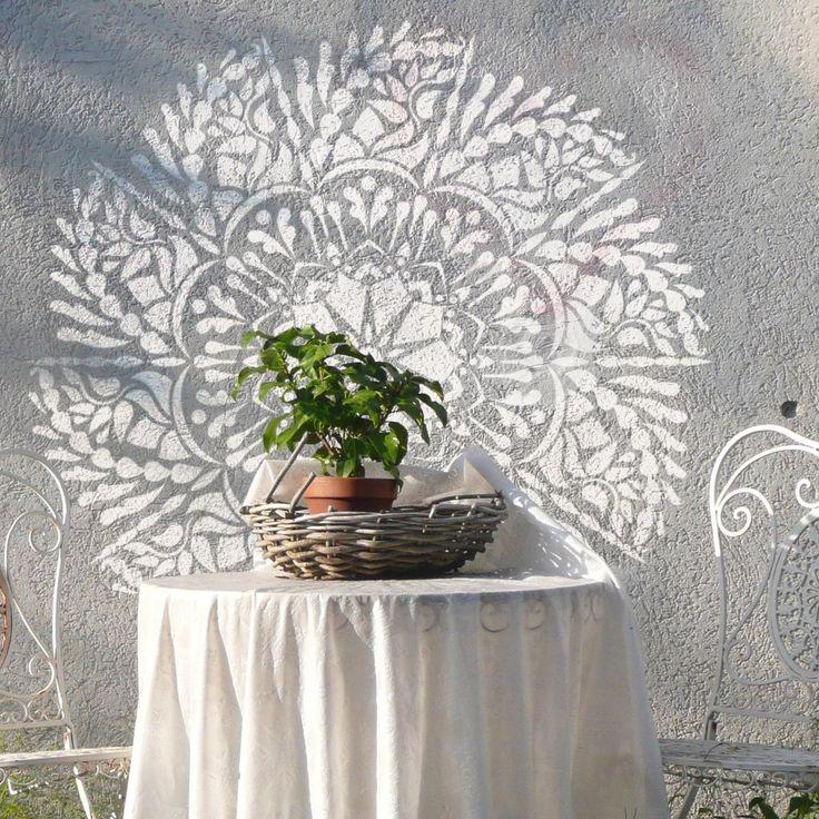 Mandala - Mandala Stencil - Original Mandala Design - Mandala-style Stencil - Mandala Stencil- Wall Stencil - Geometric Design This easy to use stencil is a perfect solution for your decoration idea.