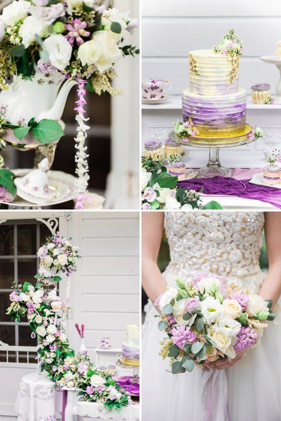 Whimsical Lavender Fairytale Wedding Inspiration A Princess Inspired Blog And The Pea B