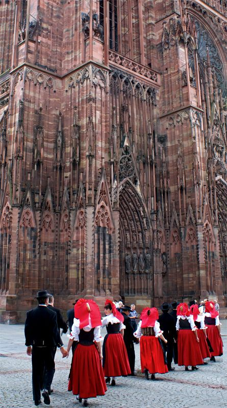Strasbourg Cathedral, amazing inside and out!