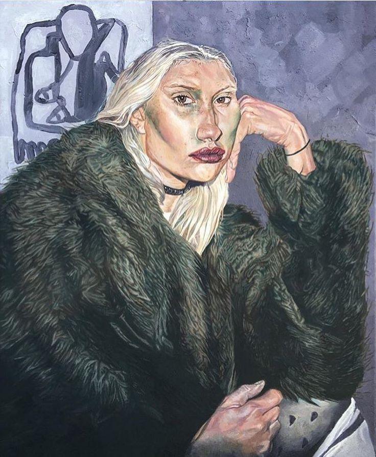 Mary Rosenberg by Andre Moya- Expressive portrait of an artist I follow